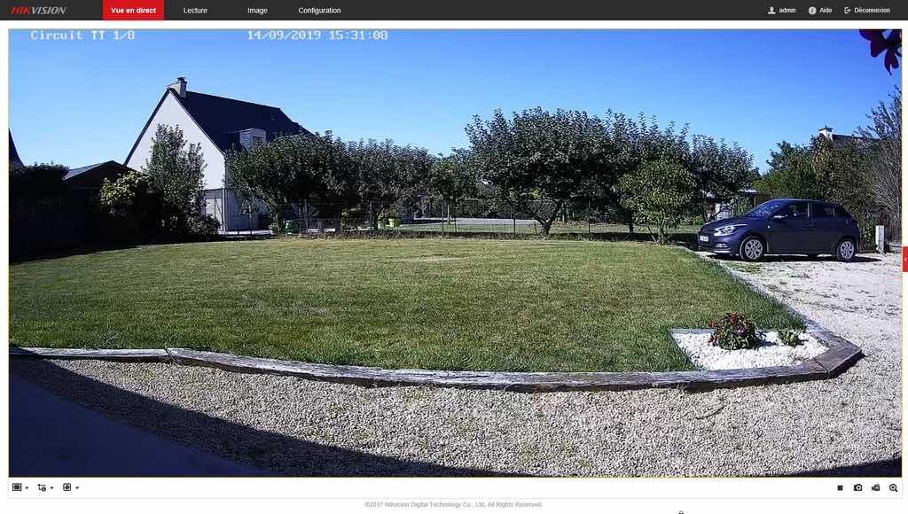 HikVision cam 12 - Caméra IP HiKvision faut-il franchir le pas ?