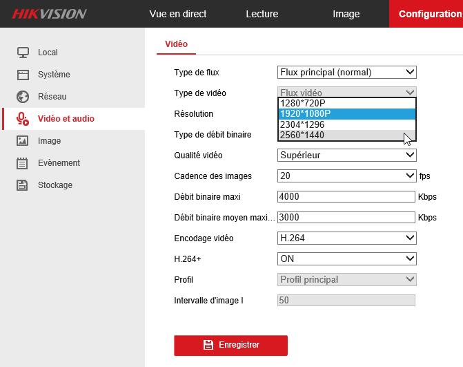 HikVision cam 19 - Caméra IP HiKvision faut-il franchir le pas ?