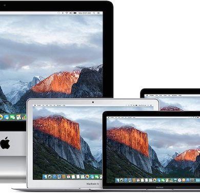 el capitan 390x377 - Comment télécharger une ancienne version de Mac OS X ou macOS ?