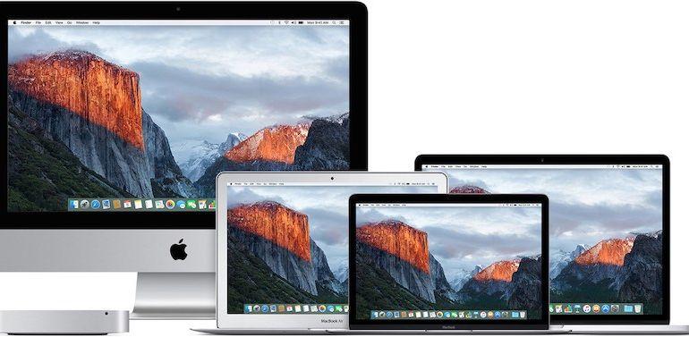 el capitan 770x377 - Comment télécharger une ancienne version de Mac OS X ou macOS ?