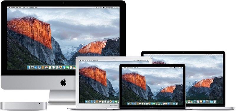 el capitan - Comment télécharger une ancienne version de Mac OS X ou macOS ?
