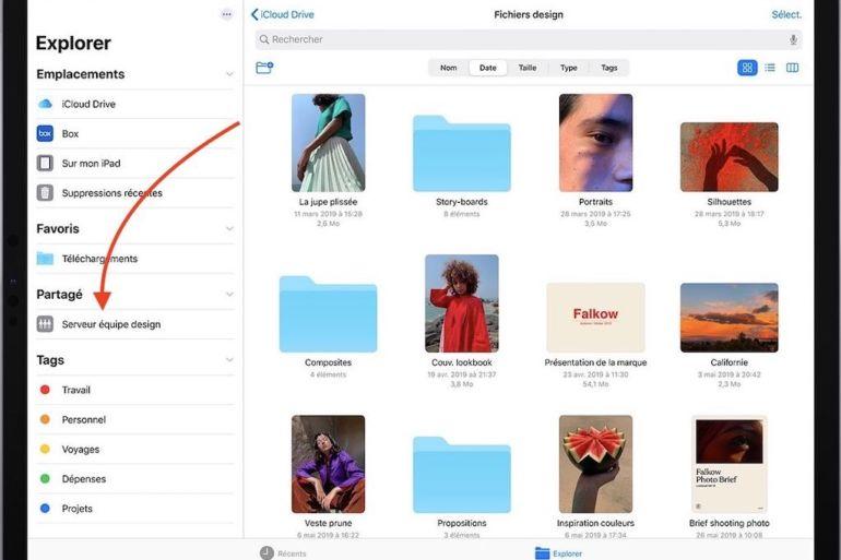 ipad serveur nas 770x513 - Accéder à son NAS depuis un iPhone ou un iPad (sans application additionnelle)
