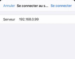 se connecter 300x236 - Accéder à son NAS depuis un iPhone ou un iPad (sans application additionnelle)