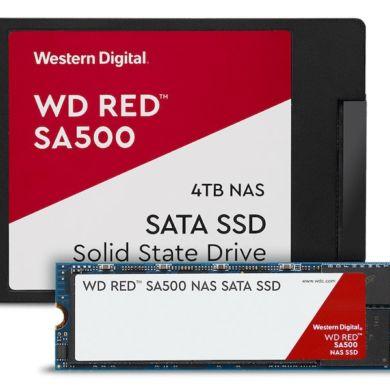 wd red sata ssd family 390x390 - Western Digital annonce de nouveaux produits pour les NAS : WD Red (Pro) 14 To et SSD WD Red