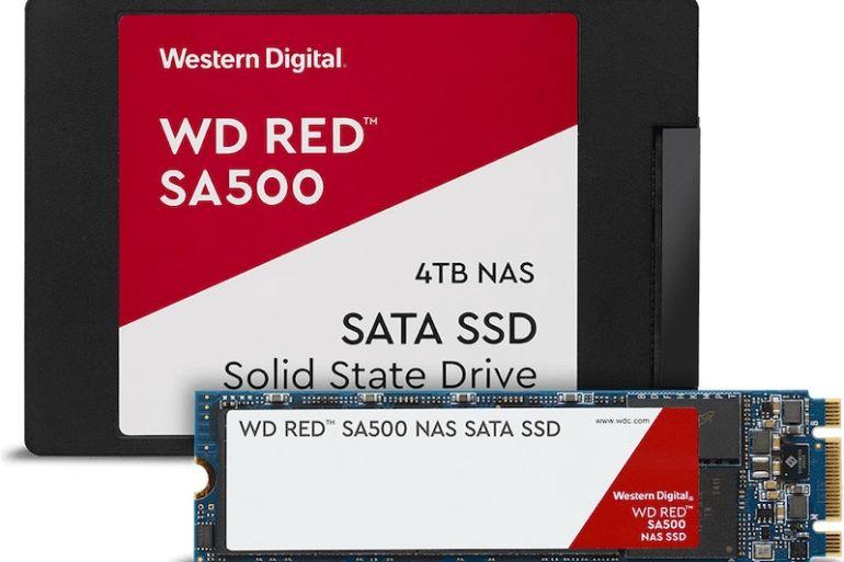 wd red sata ssd family 770x513 - Western Digital annonce de nouveaux produits pour les NAS : WD Red (Pro) 14 To et SSD WD Red