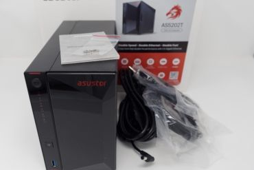 Asustor AS5202T 370x247 - NAS - Test de l'Asustor AS5202T (Nimbustor 2)