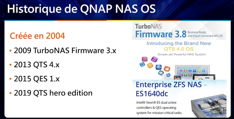 QNAP NAS OS - QNAP TechDay 2020