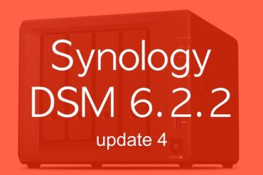 Synology DSM622u4 370x247 - Synology met à jour ses NAS vers DSM 6.2.2 update 4