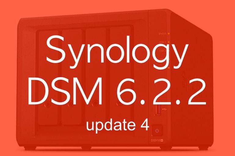 Synology DSM622u4 770x513 - Synology met à jour ses NAS vers DSM 6.2.2 update 4