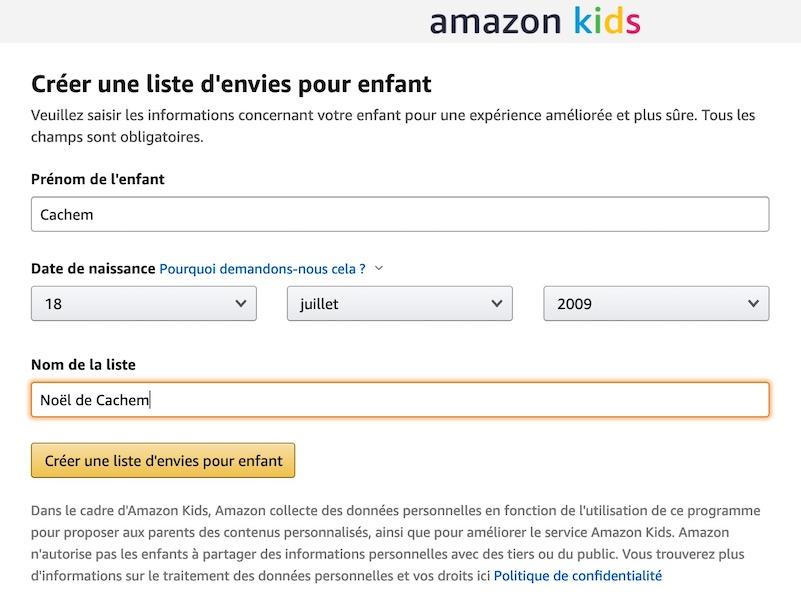 amazon kids enregistrement - Amazon lance un espace Kids pour les enfants