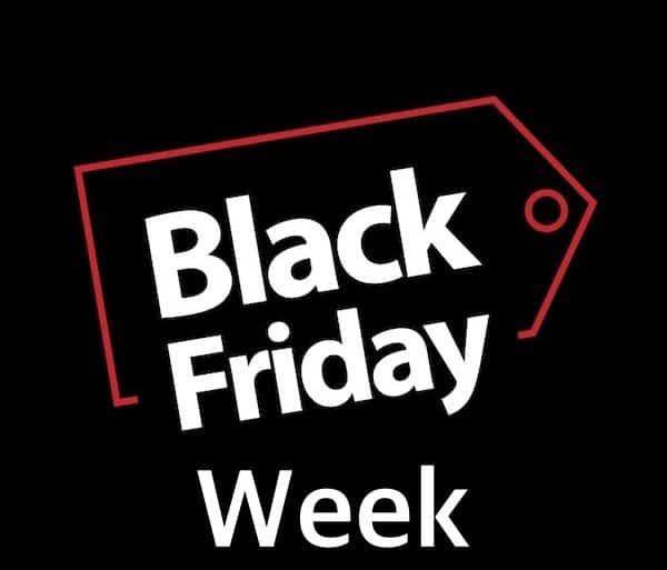 black friday week 600x513 - Black Friday Week, ça démarre aujourd'hui (10 offres incontournables...)