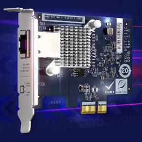 QXG 5G1T 111C 293x293 - QNAP annonce l'arrivée de 3 cartes réseau 5 Gbit/s à partir de 77$