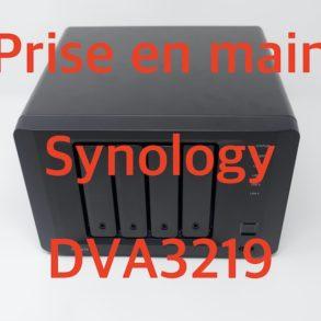 Synology DVA3219 293x293 - Synology DVA3219 : Prise en main du NVR dopé à l'IA