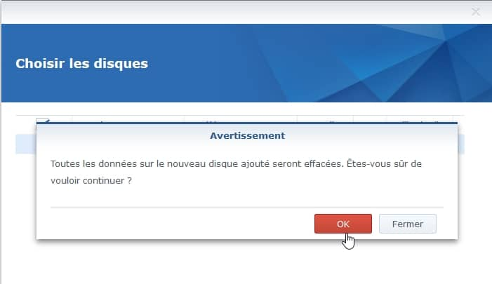 Synology ES hdd 14 - Synology : Remplacer un disque défectueux