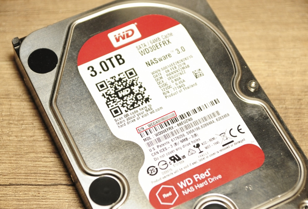 Synology ES hdd 17 - Synology : Remplacer un disque défectueux