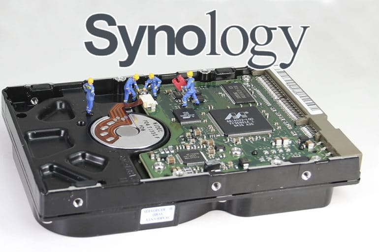 Synology ES hdd 19 770x513 - Synology : Remplacer un disque défectueux