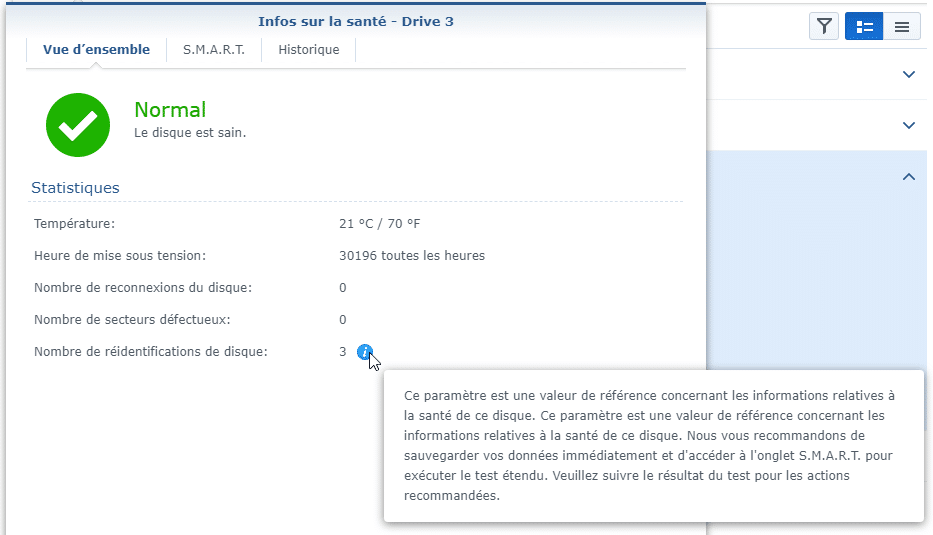 Synology ES hdd 5 - Synology : Remplacer un disque défectueux