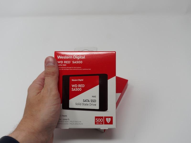 WD RED SSD SA500 - Test Synology DS620slim - Petit NAS et de grosses capacités
