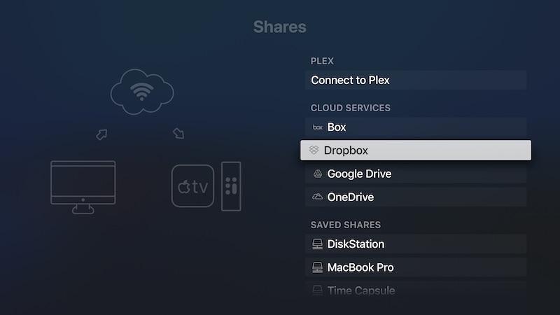 partages infuse - Infuse 6.2, LE lecteur vidéo par excellence chez Apple