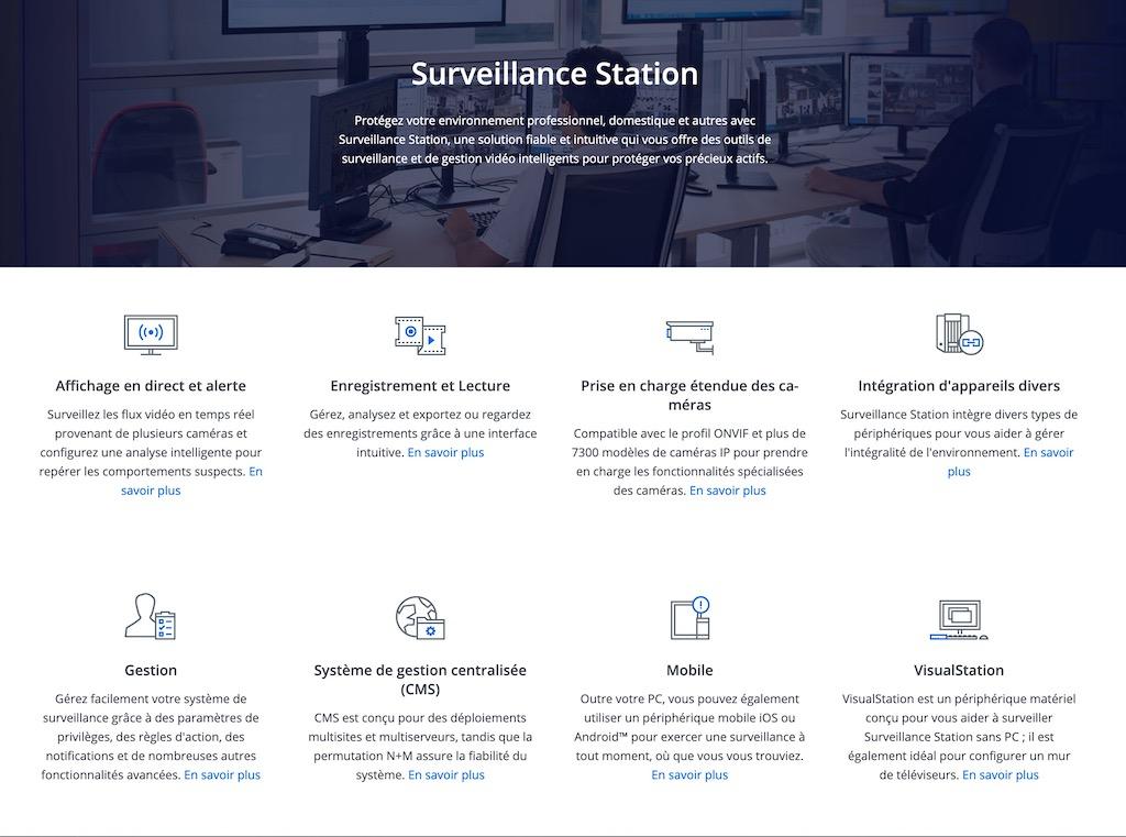 surveillance station - Synology DVA3219 : Prise en main du NVR dopé à l'IA