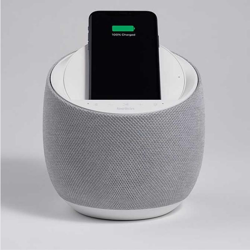 Belkin SOUNDFORM ELITE - Belkin SOUNDFORM ELITE : enceinte connectée Hi-Fi avec chargeur sans fil