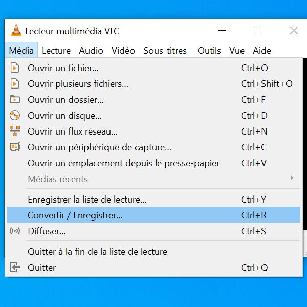 CaptureVLC1 - Enregistrer son écran (bureau) avec VLC