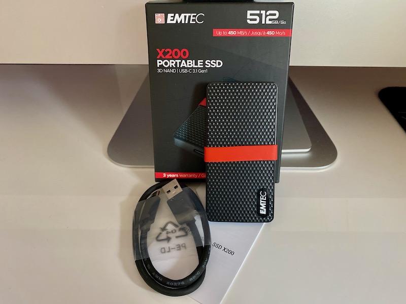 EMTEC X200 - Test du EMTEC SSD portable X200