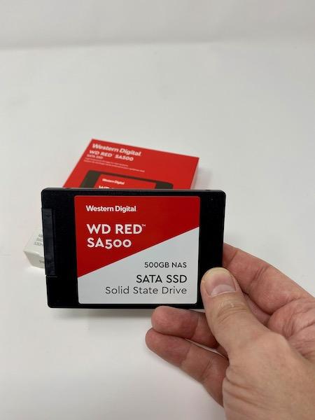 SA500 - Test SSD WD Red SA500 pour NAS