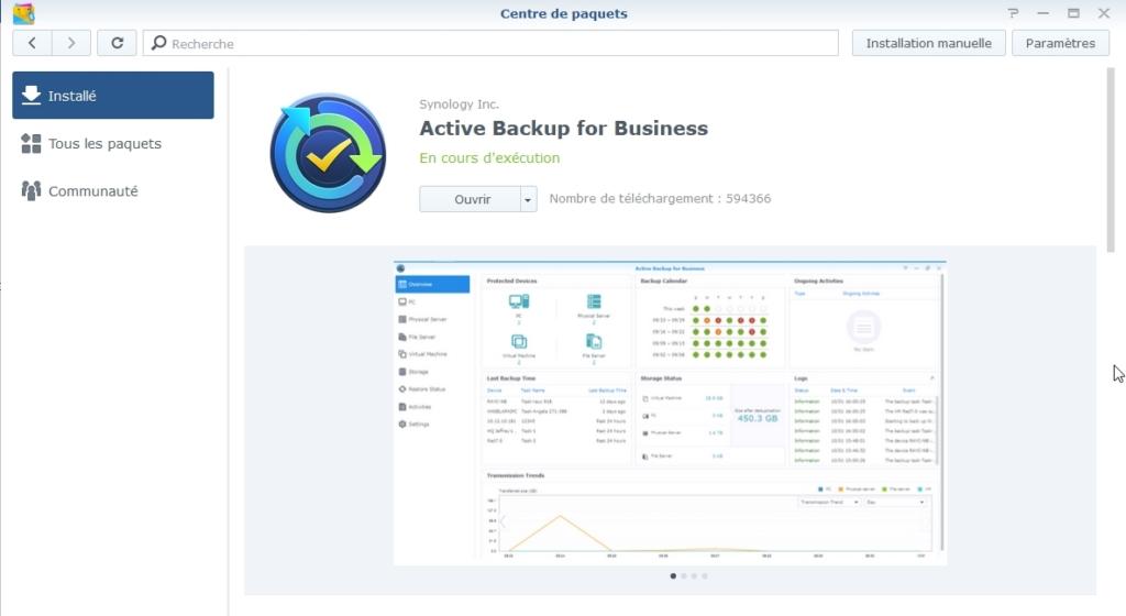 Syno active backup 4 - [Tuto] Synology Active Backup - Sauvegarder intégralement votre PC, Serveur, VM (Partie 1 Backup)