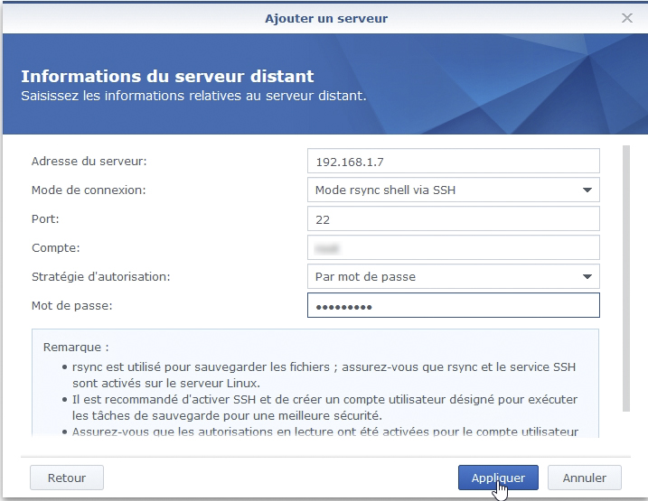 Syno active backup fichier 2 - [Tuto] Synology Active Backup - Sauvegarder intégralement votre PC, Serveur, VM (Partie 1 Backup)