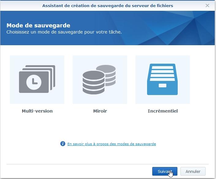 Syno active backup fichier 3 - [Tuto] Synology Active Backup - Sauvegarder intégralement votre PC, Serveur, VM (Partie 1 Backup)