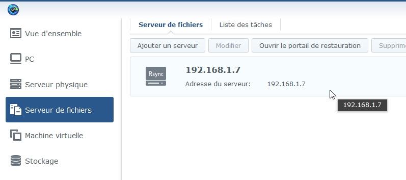 Syno active backup fichier 7 - [Tuto] Synology Active Backup - Sauvegarder intégralement votre PC, Serveur, VM (Partie 1 Backup)