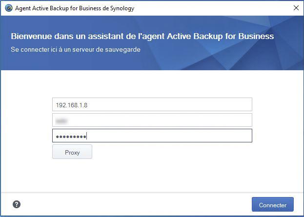 Syno active backup pc 5 - [Tuto] Synology Active Backup - Sauvegarder intégralement votre PC, Serveur, VM (Partie 1 Backup)