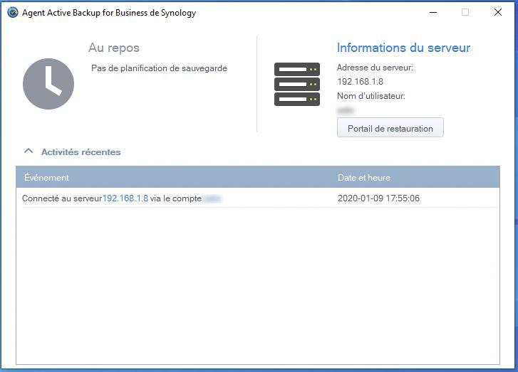 Syno active backup pc 7 - [Tuto] Synology Active Backup - Sauvegarder intégralement votre PC, Serveur, VM (Partie 1 Backup)