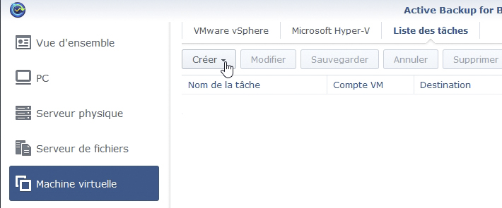 Syno active backup vm 11 - [Tuto] Synology Active Backup - Sauvegarder intégralement votre PC, Serveur, VM (Partie 1 Backup)