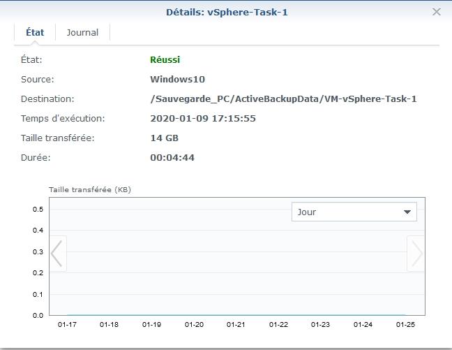 Syno active backup vm 13 - [Tuto] Synology Active Backup - Sauvegarder intégralement votre PC, Serveur, VM (Partie 1 Backup)