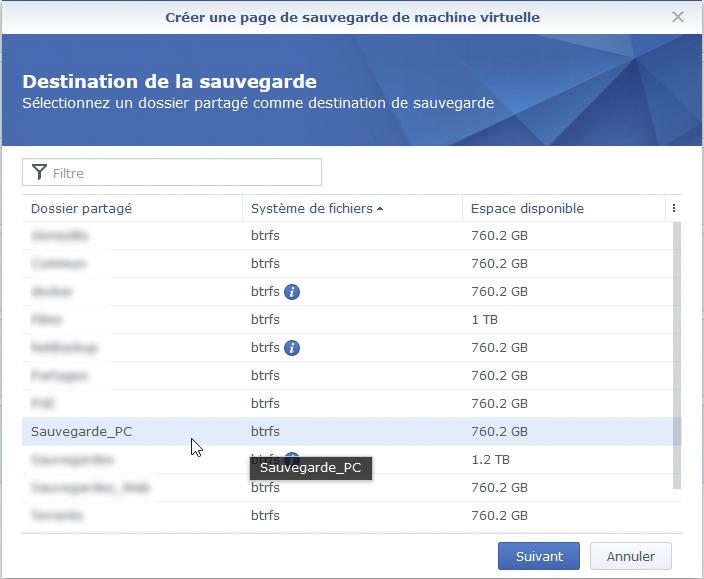 Syno active backup vm 5 - [Tuto] Synology Active Backup - Sauvegarder intégralement votre PC, Serveur, VM (Partie 1 Backup)