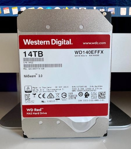 TEST WD RED 14TB 450x513 - Test du disque dur WD Red 14 To