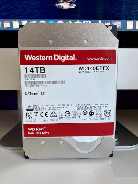 TEST WD RED 14TB - Test du disque dur WD Red 14 To