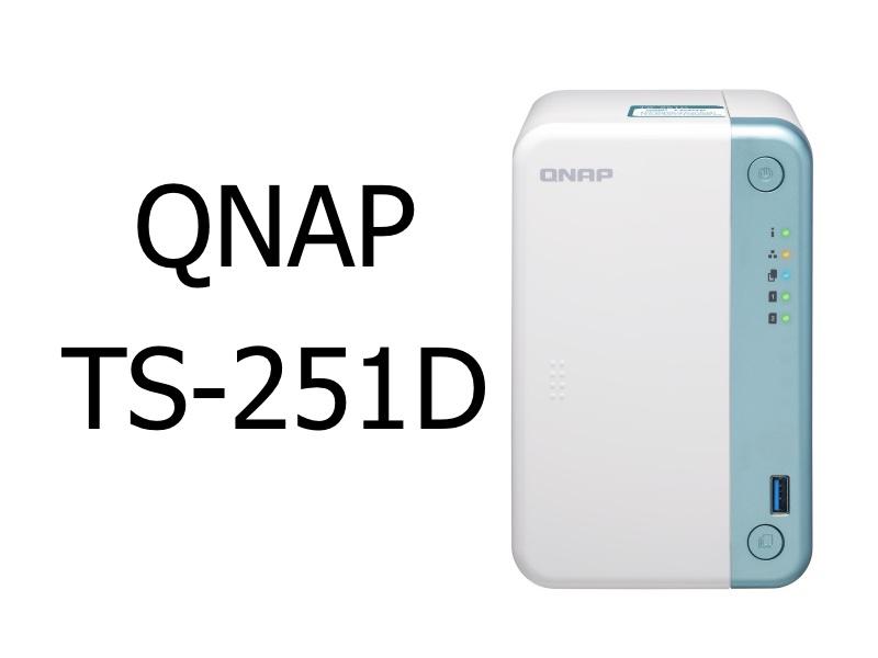 TS 251D - NAS - QNAP TS-251D est annoncé officiellement...