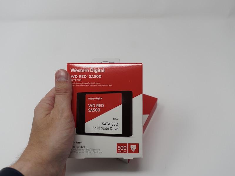 WD RED SA500 boite - Test SSD WD Red SA500 pour NAS