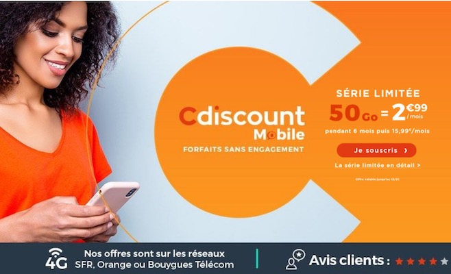 cdiscount mobile - SOLDES HIVER 2020