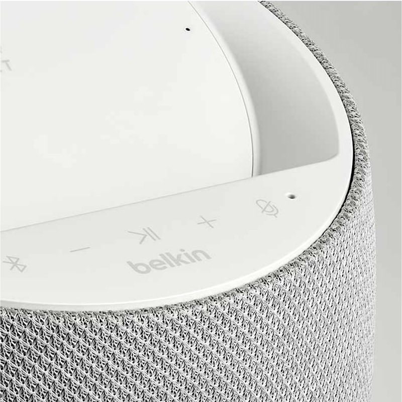 commande SOUNDFORM ELITE - Belkin SOUNDFORM ELITE : enceinte connectée Hi-Fi avec chargeur sans fil