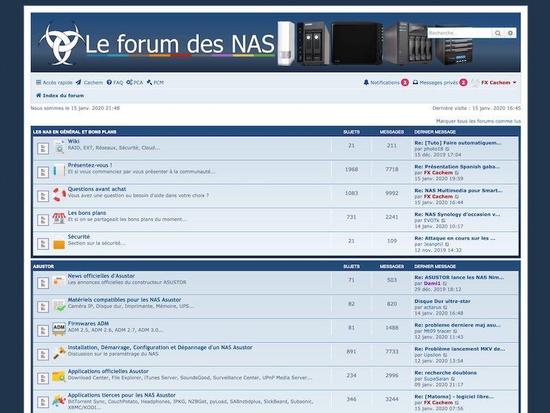 forum nas 2020 - Le Forum des NAS fête ses 6 ans