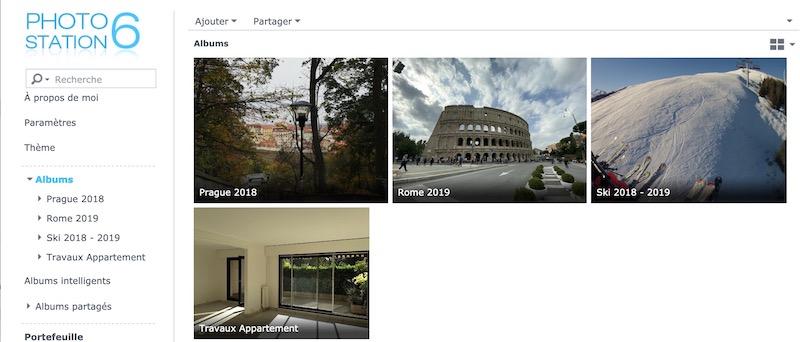 photo station - Les solutions multimédias de Synology