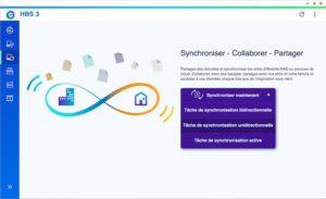 HBS3 Synchro unidirectionnelle 300x183 - Sauvegarder et synchroniser son NAS QNAP avec kDrive