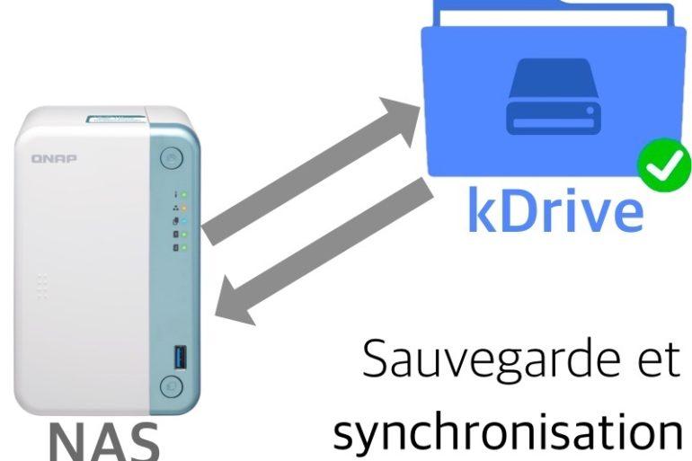 QNAP kDrive 770x513 - Sauvegarder et synchroniser son NAS QNAP avec kDrive