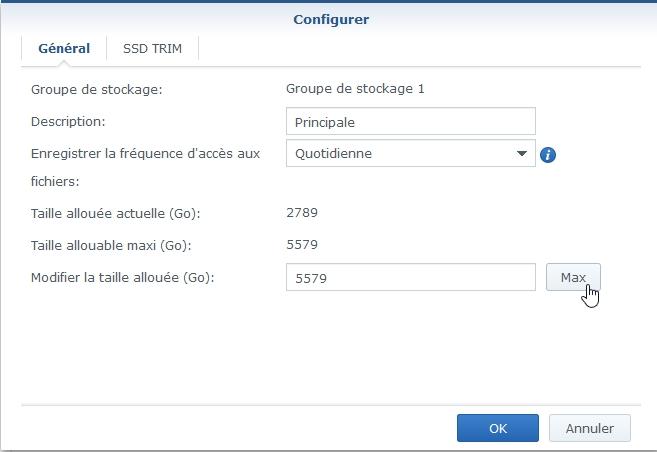 Syno Augmentation raid 9 - Synology - Augmenter l'espace de stockage RAID