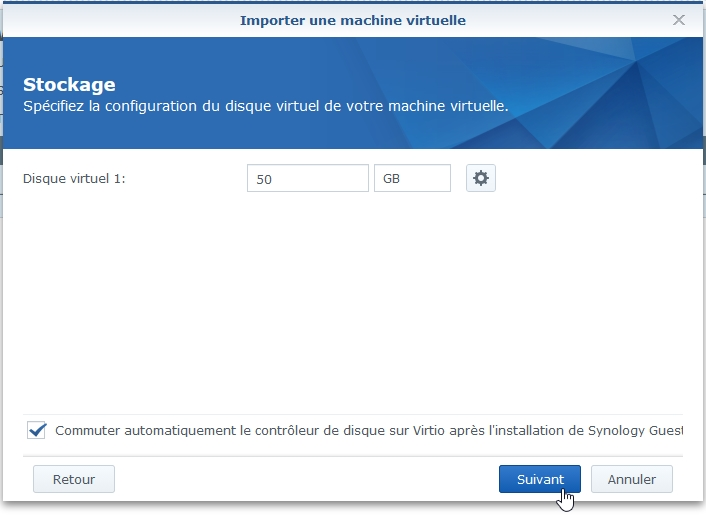 Syno Active backup resto vm 5 - [Tuto] Synology Active Backup – Sauvegarder intégralement votre PC, Serveur, VM (Partie 2 Restauration)