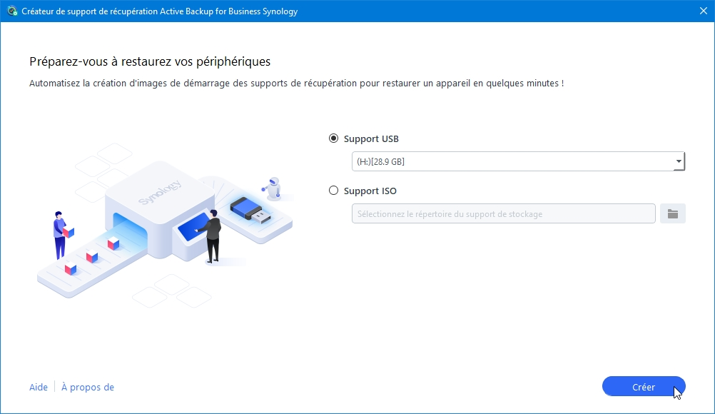Synology active back resto 17 - [Tuto] Synology Active Backup – Sauvegarder intégralement votre PC, Serveur, VM (Partie 2 Restauration)